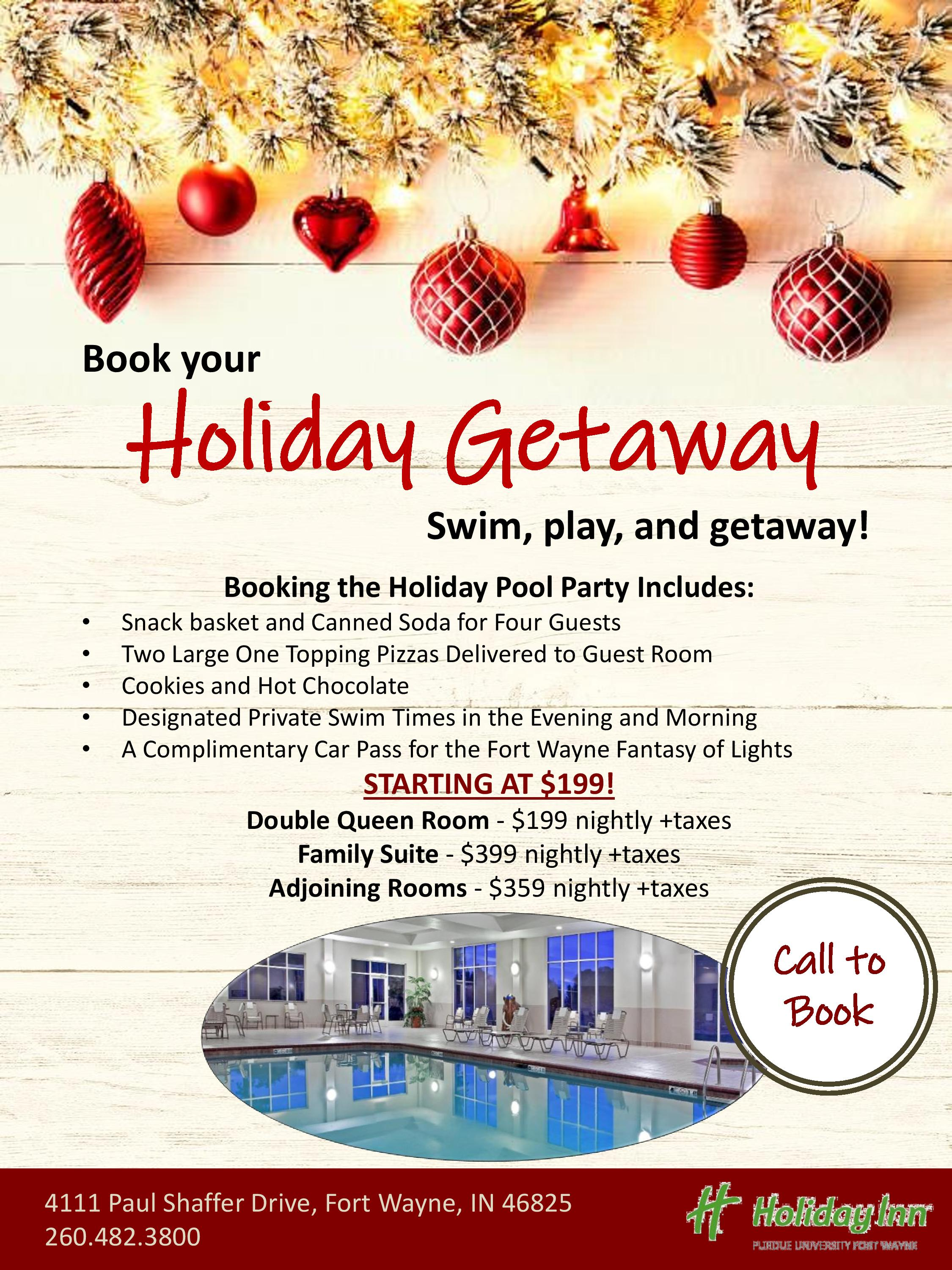 Holiday INN/PFW Pool package